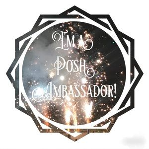 I'm a Posh Ambassador/Suggested User 😍❤️🎉