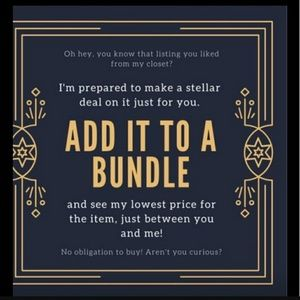 Tops - Add items to a bundle and get a great offer.