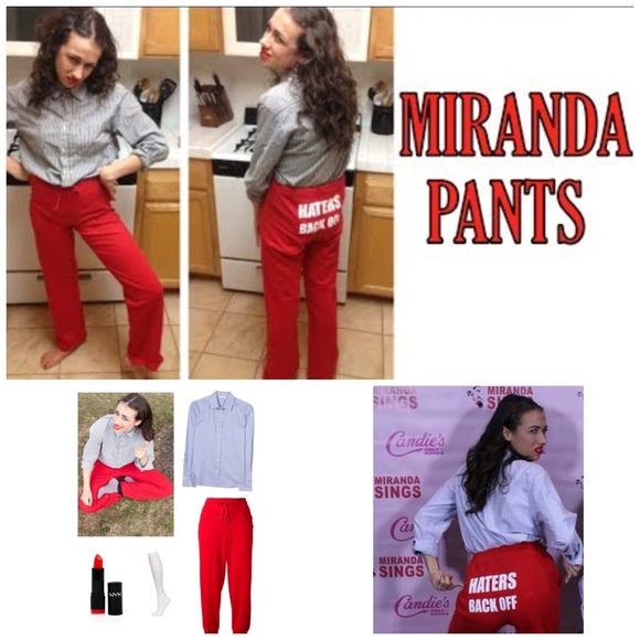Miranda Sings Pants Haters Back Off Size Small Poshmark