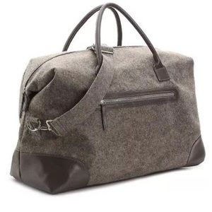 Handbags - New DSW Weekender tote bag gray felt