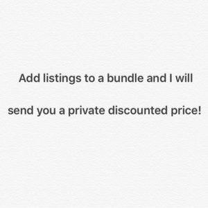 Private discount