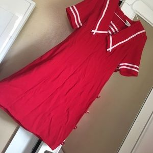 Dresses & Skirts - Vintage Red Sailor Dress