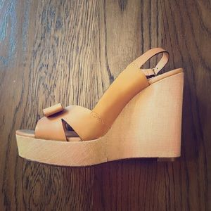 Kate Spade never been worn wedges!