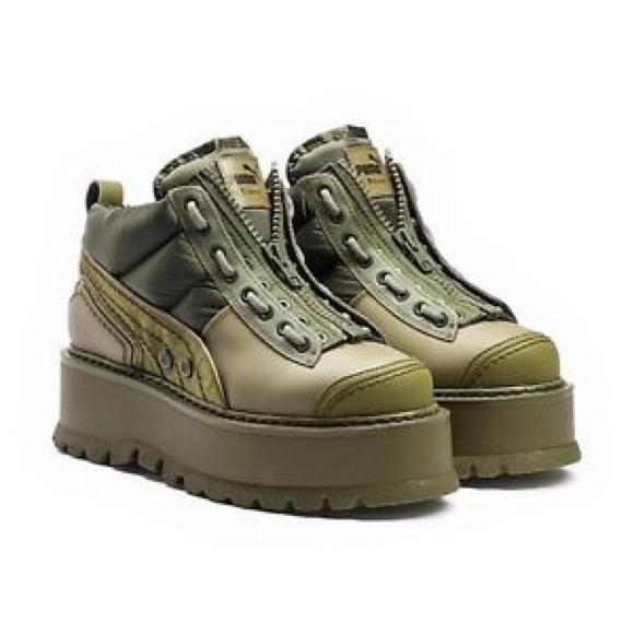 FENTY PUMA by RIHANNA Zipped Sneaker Boots 6318d0476