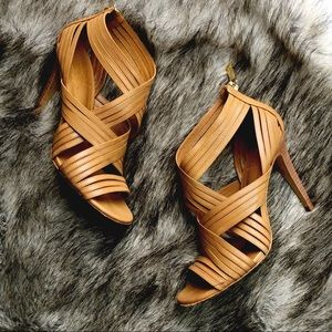 Tory Burch Caged Heels