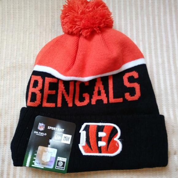Cincinnati Bengals NFL knitted beanie winter hat da9ff16239a