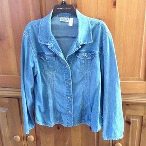 Chico's jean jacket