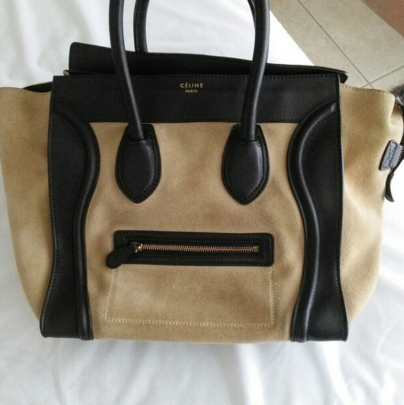 2349f3e91d78 Celine Golden Sand Mini Luggage