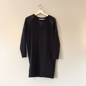 Madewell Ponte Baseball Dress M