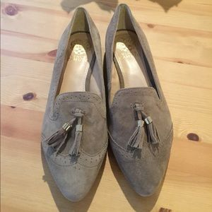 Vince Camuto suede flats size 8