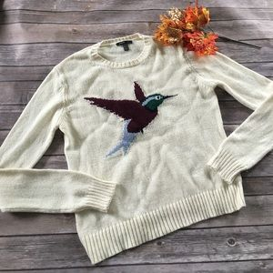 Mango hummingbird sweater