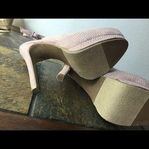 SM New York Shoes - Blush Pink Heels