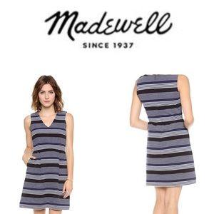 💕💕Made well ottoman ridge Blue Dress sz M 💕💕