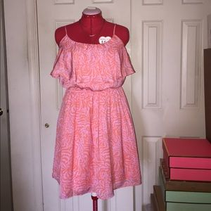 Lilly Pulitzer for Target Satin Flounce Dress