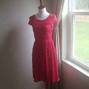 Red Lace Dress- Perfect for the Holiday Season