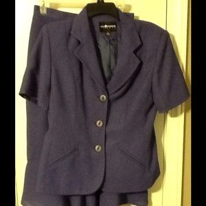 2 piece skirt suit by Sag Harbor size 10
