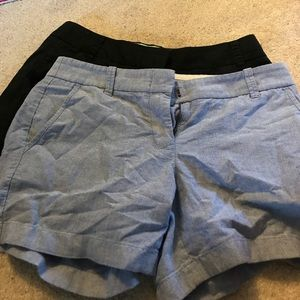 Pair of JCrew size4 shorts.  Both in EUC.