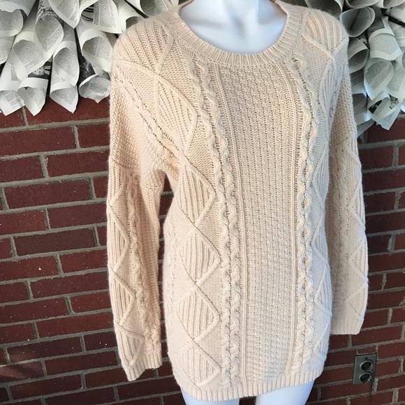 67% off Gianni Bini Sweaters - Gianni Bini Denise long cable knit ...