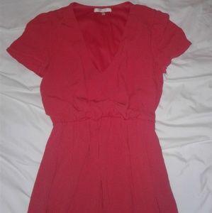 Nordstrom WAYF Blouson Midi Dress