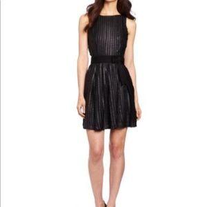 Eva Franco Vegan Leather Dots Dress