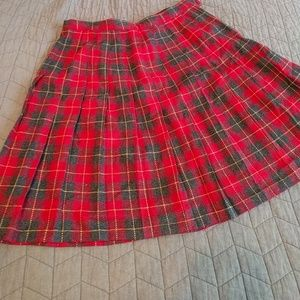 Sag Harbor plaid skirt