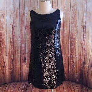 Johnny Was Sequin Vintage Cocktail Dress Small