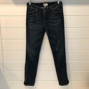 Current/Elliot Skinny Zipper Jean