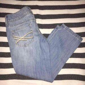 Aeropostale Crop Jeans 00