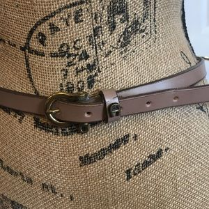 "Vintage Rare Tan ETIENNE AIGNER BELT 36"" long"