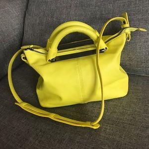 Zara - Zara Basic Yellow Handbag.