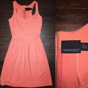Peach color Cynthia Rowley Dress