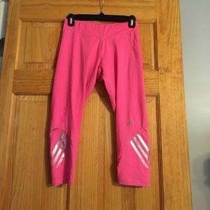 Climalite Hot Pink Adidas capris