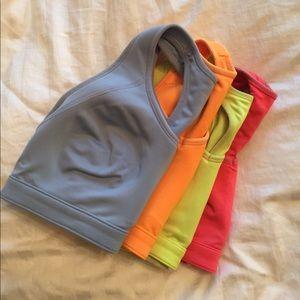 4 GapFit 34D sports bras