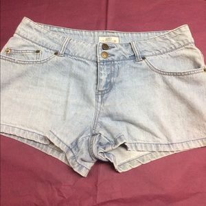 SO Light Washed Shorts