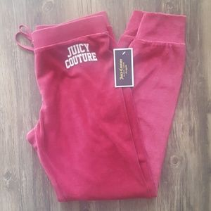 NWT JUICY COUTURE VELOUR ZUMA PANT