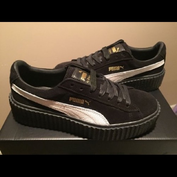 812559d9e8 Rihanna Fenty x Puma Suede Creeper Shoes. M_59e23ed64e8d1766f001ab99