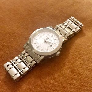 Burberry Heritage Stainless Steel Watch BU1351