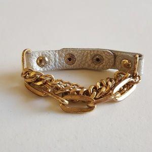 14th & Union - Gold/Silver Wrap Bracelet