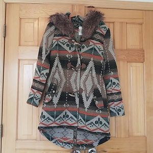 BB Dakota blanket coat