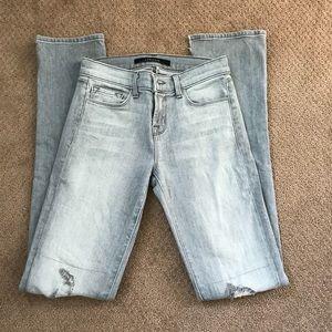 J Brand Rail Slim Straight Leg Jeans