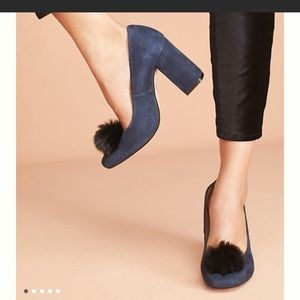 Anthropologie Block Heel