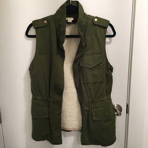 J.Crew Military Cargo Vest
