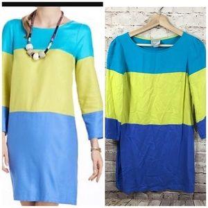 Anthropologie Maeve Colorblock Dress Size 2