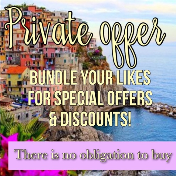 Accessories - Bundle at least 2 items for a private discount 