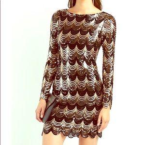 Women's sequin dress