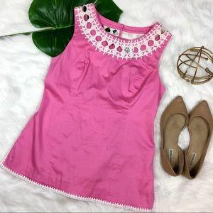 Lilly Pulitzer Pink & White Tunic
