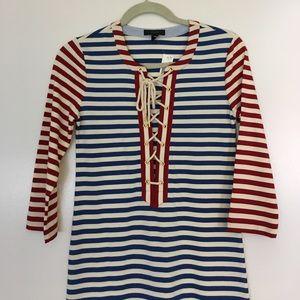 NWT Striped Maxi Dress