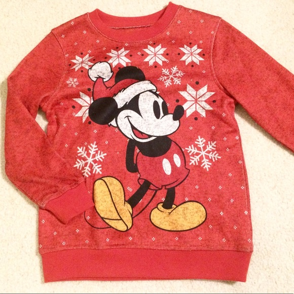 mickey mouse christmas sweater - Mickey Mouse Christmas Sweater