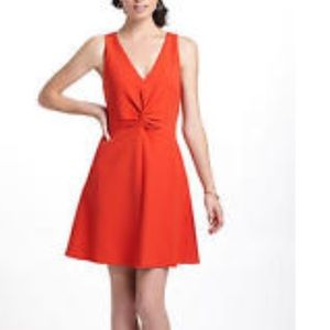 { Anthropologie} Leifsdottir Red dress