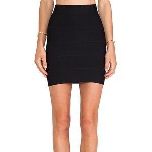 Black BCBG Bandage Skirt {like new!!}